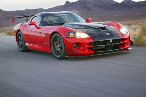 Viper SRT10® ACR. Dodge delivers ultimate purpose-built, street-legal