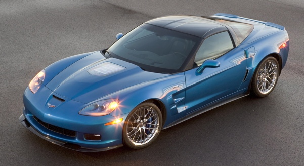 2009 Corvette ZR1 Powered By The Most Powerful Production Engine Ever From