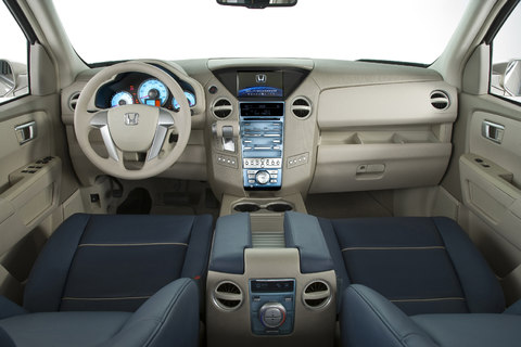 2009 Honda Pilot Interior. The Pilot Originally Debuted As ...