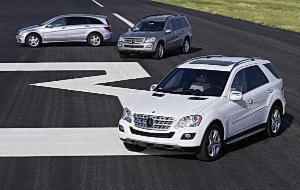 Mercedes-Benz will shortly be launching three BlueTEC SUVs – the ML 320