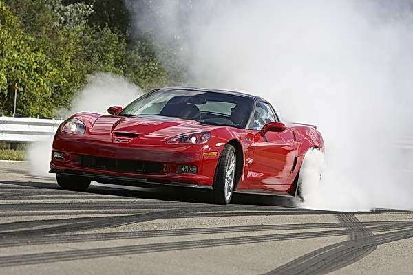corvette burnout lookalike