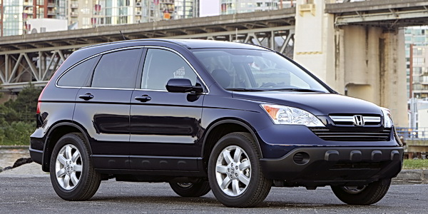 2009 Honda CR-V (EX-L with Navigation).