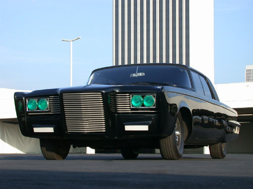 Major Buzz Over New Green Hornet Movie Car