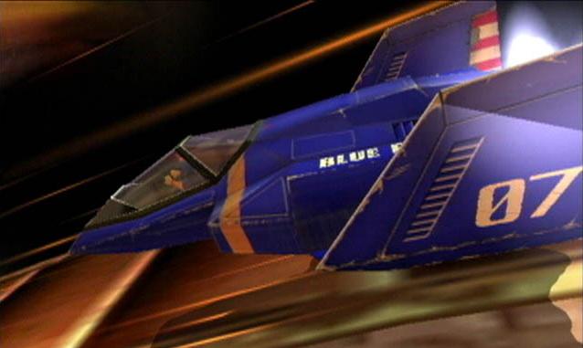 F-Zero Blue Racer