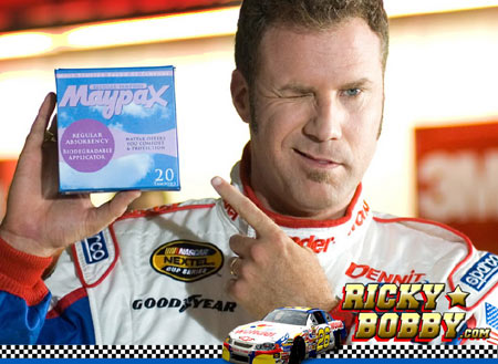 "He drove a NASCAR in Talladega Nights, but in real life he's a ""Hydrogen Car"
