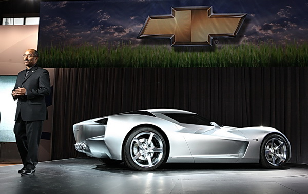Corvette Stingray Concept 2010. Corvette vision concept at