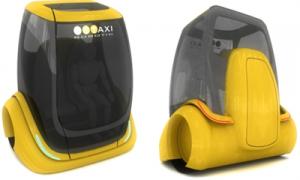 Kubik Design Robot Taxi