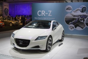 Honda hybrid sports car CR-Z