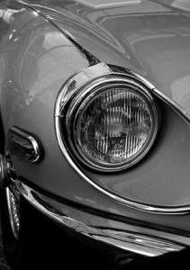 Jaguar headlight
