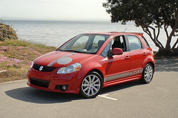 2010 Suzuki SX4 SportBack View
