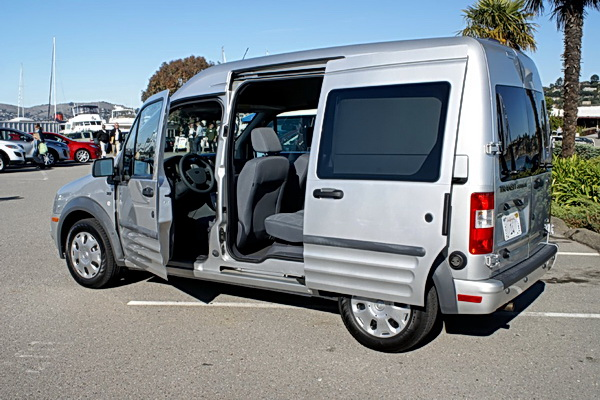 according to ford since the transit connect is - Ford Transit Connect Interior Camper