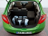 Mazda 2 rear cargo area