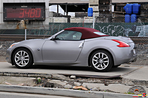 First Impressions 2010 Nissan 370z Roadster The Z Goes