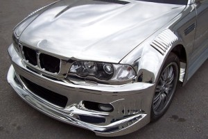 BMW_M3_chrome_paint