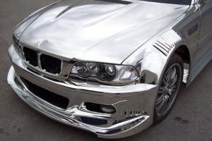BMW_M3_chrome_paint