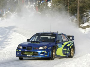 Subaru Impreza WRC World Rally Car
