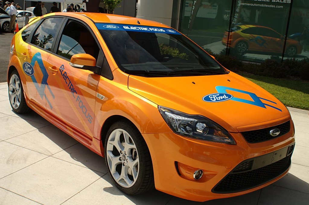 2012 Ford Focus EV