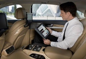 Audi A8 factory installed wi-fi hotspot