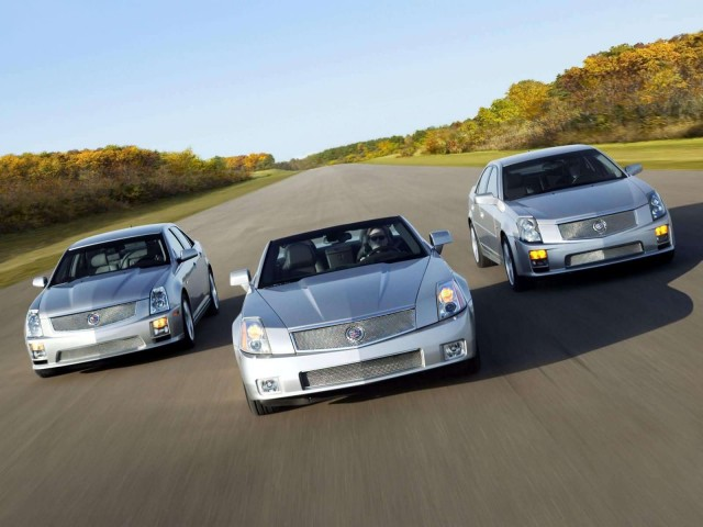 Cadillac XLR and CTS Test Drive