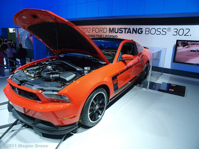 ©2011 Megan Green - 2012 Ford Mustang Boss 302