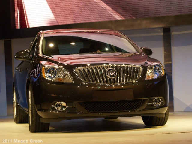 ©2011 Megan Green - Buick Verano at 2011 NAIAS