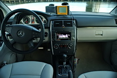 Mercedes-Benz B-Class F-CELL interior