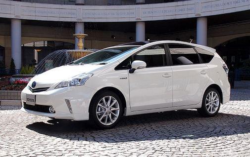 Toyota Prius V Wagon. The new Toyota Prius V,