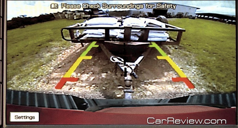 2011 Ford F-Series Super Duty rearview camera option