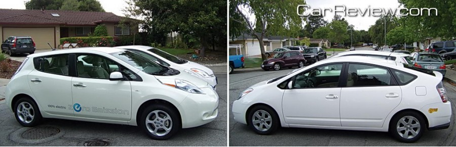 2011 nissan leaf review vs the chevy volt and toyota prius car reviews and news at. Black Bedroom Furniture Sets. Home Design Ideas