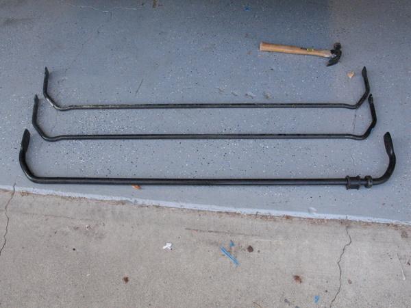 Mini Cooper sway bars