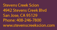 stevens creek scion contact