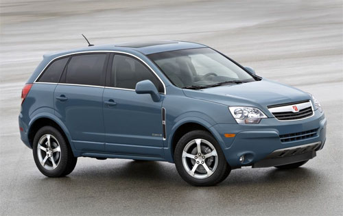 DETROIT U2014 General Motors Is Trumpeting A Pair Of Numbers About Its 2008  Saturn Vue Green Line Today. The Hybrid SUVu0027s Fuel Economy Numbers Are 25  Mpg In The ...