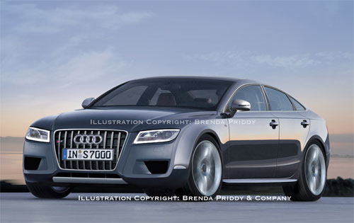Spy Photos Audi A7