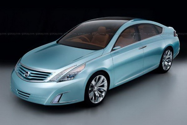 Nissan's Intima concept revealed in the lead-up to Tokyo Auto Show