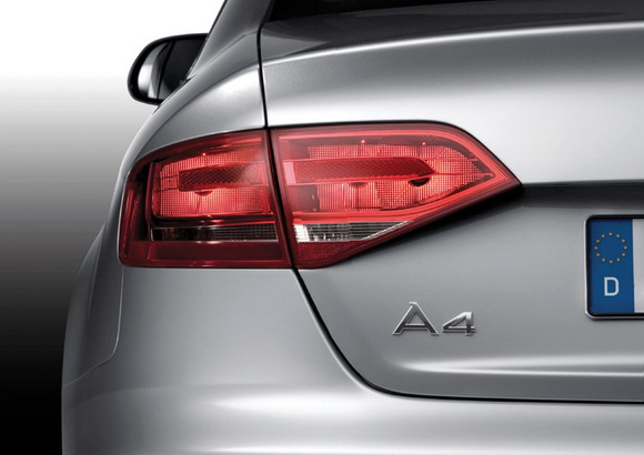 Audi A4 trunk badge