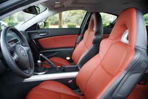 Mazda RX-8 leather seats