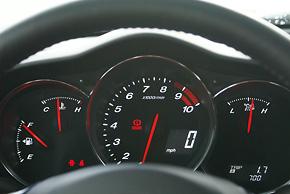 Mazda RX-8 gauge cluster