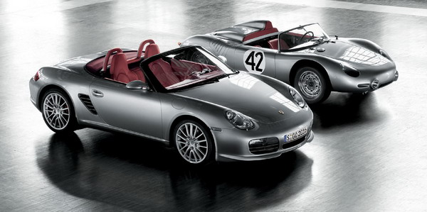 Porsche Boxster RS60 Spyder and 718 RS 60 Spyder