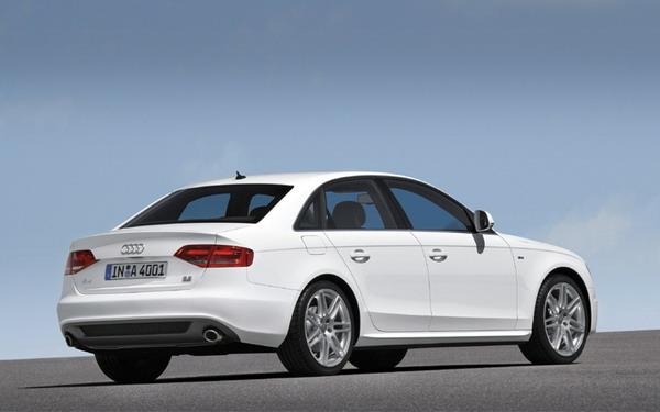 All new 2009 Audi A4