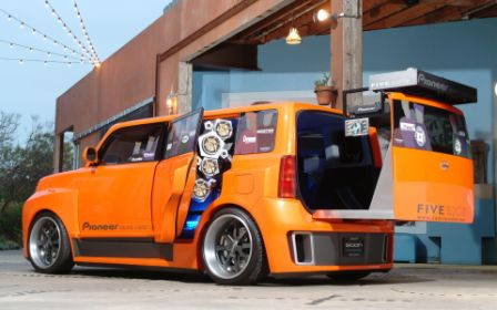 Five-Axis Scion DJ xB