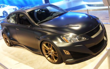 Five-Axis Lexus IS-F