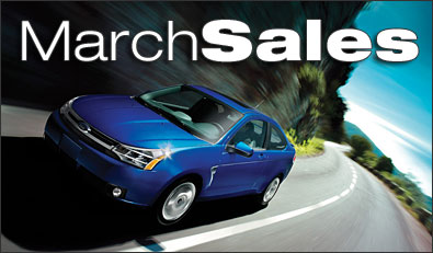 Ford March Sales
