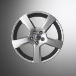 2009 Volvo V70 R-Design - five-spoke 18-inch aluminum wheels, Cratus
