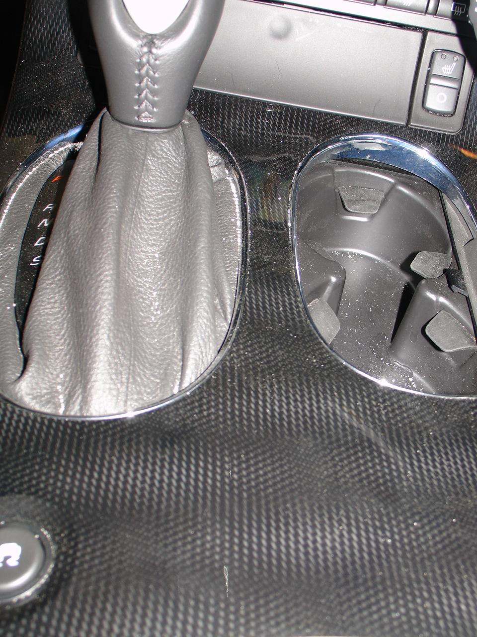 Chevrolet Corvette - carbon fiber veneer