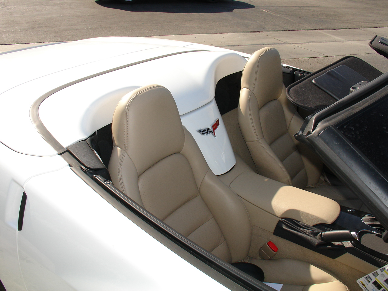 2008 Chevrolet Corvette Convertible - leather seating