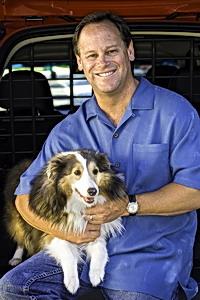 VCNA President & CEO Doug Speck with his dog Sadie