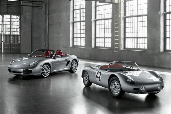 Porsche Boxster RS 60 Spyder and Type 718 RS 60