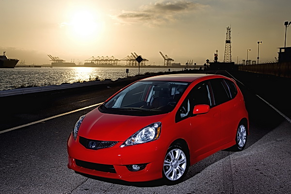Redesigned 2009 Honda Fit Sport
