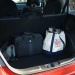 Honda Fit - cargo area