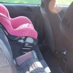 Honda Fit - with child seats